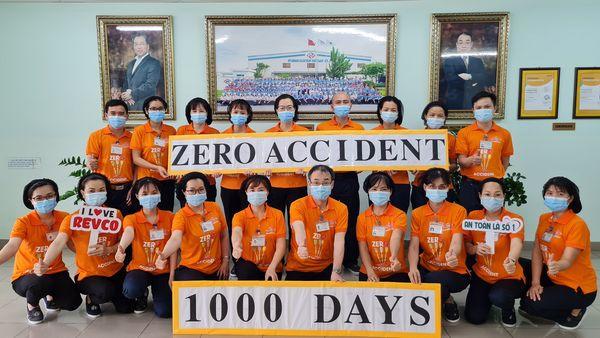 1000 Days Zero accident